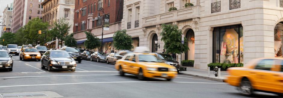 Madison Avenue at East 72 Street