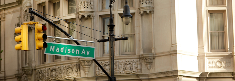 (English) Madison Avenue at East 72 Street