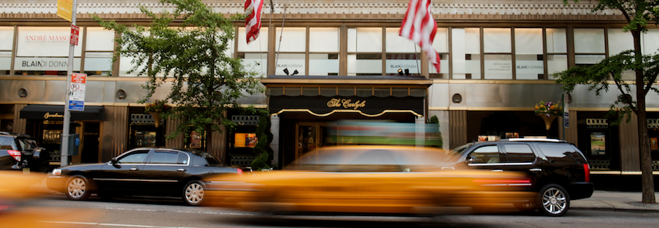 The Carlyle Hotel on Madison Avenue