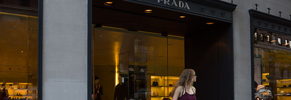Prada on Madison Avenue