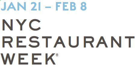 New York City Restaurant Week® on Madison Avenue: January 21 - February 8, 2019