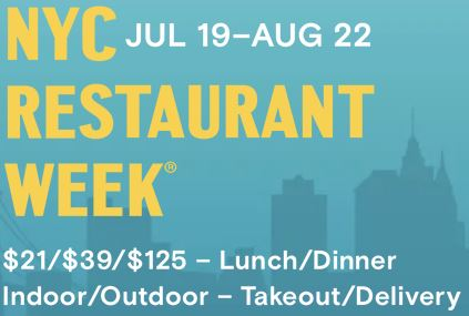 New York City Summer Restaurant Week® on Madison Avenue: Now through August 22, 2021