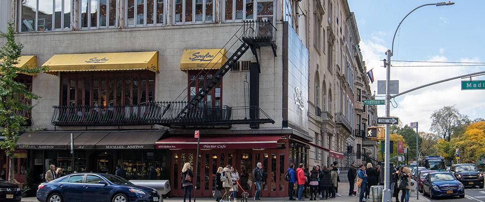 Madison Avenue at East 79 Street